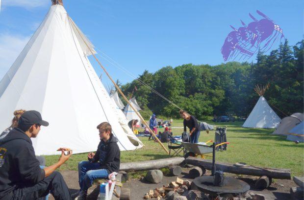 Sommerlejr 2018 på Røsnæs ved Kalundborg Den 15.– 21. juli